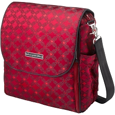 Boxy Backpack - Spiced Crimson Roll