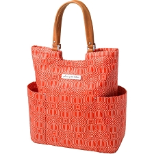 Tailored Tote in Paprika