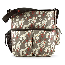 Skip Hop Duo Deluxe Diaper Bag - Cherry Bloom