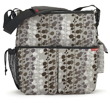 Skip Hop Duo Deluxe Diaper Bag - Willow Dot