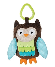 Treetop Friends Wise Owl Stroller Toy