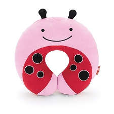 Skip Hop Zoo Travel Neckrest for Kid - LadyBug