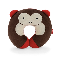 Skip Hop Zoo Travel Neckrest for Kid - Monkey