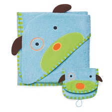 Skip Hop Zoo Towel / Mitt Set - Dog