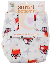 Smart Bottoms 3.1 Organic One Size All-in-One Diaper
