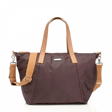 StorkSak Noa Diaper Bag - Burgundy