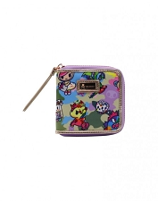 Tokidoki Zip Around Wallet - Camo Kawaii Collection