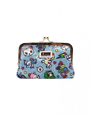 Tokidoki Kisslock Coin Purse - Denim Daze Collection