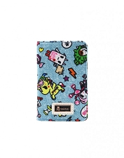 Tokidoki Small Bifold Wallet - Denim Daze Collection
