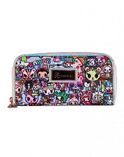 Tokidoki Long Wallet - Kawaii Metropolis Collection