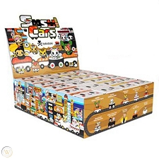 Tokidoki Blind Box - Sushi Cars - FULL BOX 24PCS
