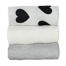 Tula Blanket Set - Love Noir