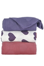 Tula Blanket Set - Love Violette