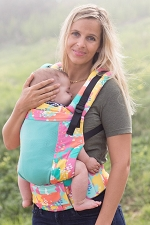 Tula Free-to-Grow Baby Carrier - Coast Paint Palette