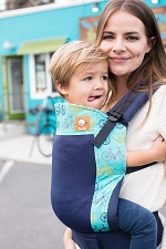 Tula Toddler Carrier - Coast Round and Round