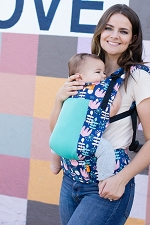 Tula Toddler Carrier - Coast Twilight Tulip