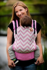 Tula Standard Carrier - Pink Zig Zag