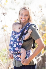 Tula Free-to-Grow Baby Carrier - Twilight Tulip