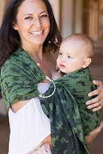 Tula Wrap Conversion Ring Sling - Dino Peer