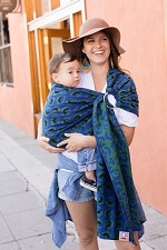 Tula Wrap Conversion Ring Sling - Dorothy Emerald City