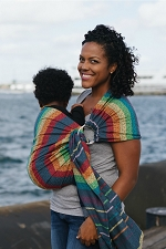 Tula Wrap Conversion Ring Sling - Imagine Midday