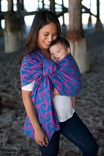 Tula Wrap Conversion Ring Sling - Surf Mavericks