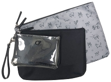 TWELVElittle Trio Pouch 2.0 - Black