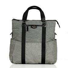 TWELVElittle Unisex 3-in-1 Foldover Tote - Grey