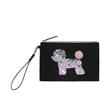 TWELVElittle Year Of The Dog Pouch - Black