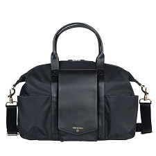 TWELVElittle Peek-A-Boo Satchel Diaper Bag - Black