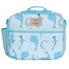 TWELVElittle x Sarah Jane Under the Sea Lunch Bag - Blue