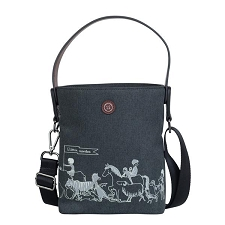 TWELVElittle x Sarah Jane Parade Bottle Bag - Charcoal