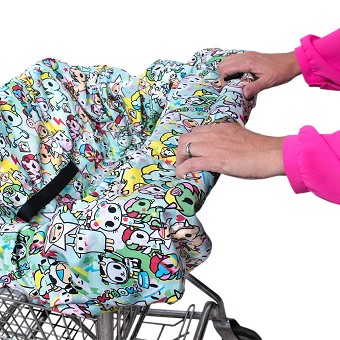 Bebe Au Lait Shopping Cart Cover - Tokidoki Unikiki