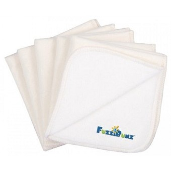 FuzziBunz Wonder Wipes -  Cotton Fleece - 10 Pack
