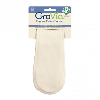 GroVia Booster (Organic Cotton or Stay Dry) (2 pack)