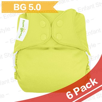 bumGenius 5.0 One Size Diaper - 6 Pack