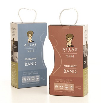 Atlas Band Combo: Pregnancy & Postpartum Band