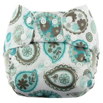 Blueberry One Size Econappi Pocket Diaper - Snap