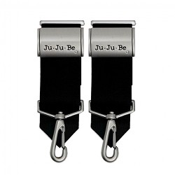 Ju Ju Be Be Connected Clips - Black / Silver