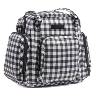 Ju Ju Be Be Supplied Bag - Onyx The Gingham Style