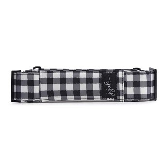 Ju Ju Be Messenger Bag Strap - Onyx The Gingham Style