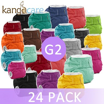 Rumparooz G2 One Size Diaper - 24 Pack