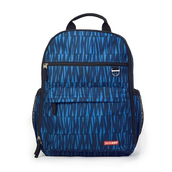Skip Hop Duo Diaper Backpack - Blue Graffiti