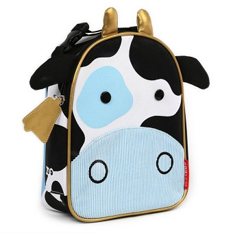 Skip Hop Zoo Lunchies Insulated Lunch Bags - Cow