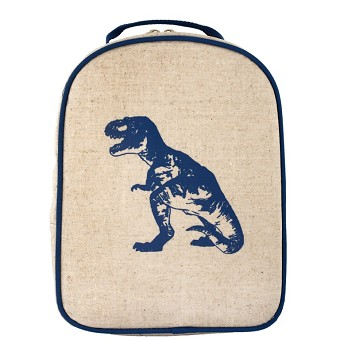 SoYoung Matching Lunch Box to Toddler Backpack - Blue Dinosaur
