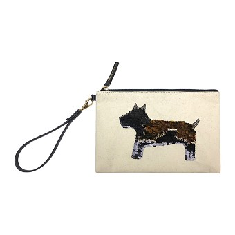 TWELVElittle Year Of The Dog Pouch - White