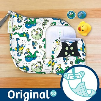 MONTH #12 - LOCHy DUCKy bumGenius 5.0 Cloth Diaper Set