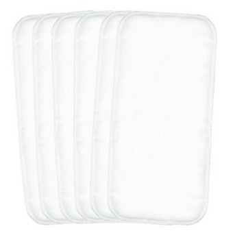 "Flip Stay Dry Inserts - 6 Pack - Small 12""x5.5"""