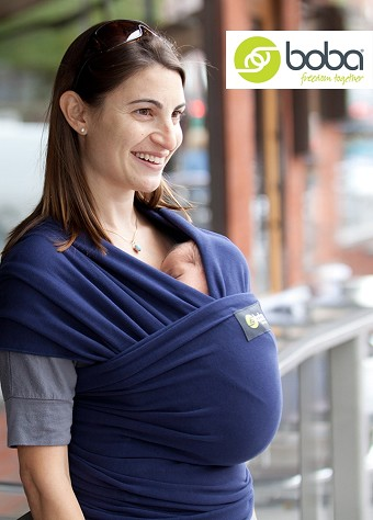 Boba Baby Wrap - Navy Blue
