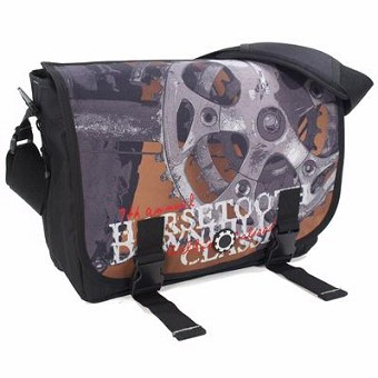 DadGear Messenger Diaper Bag - Bike Race
